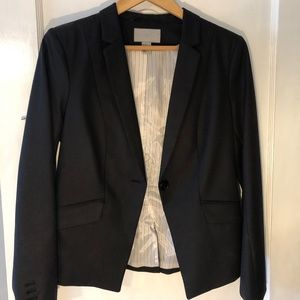 H&M black women's blazer